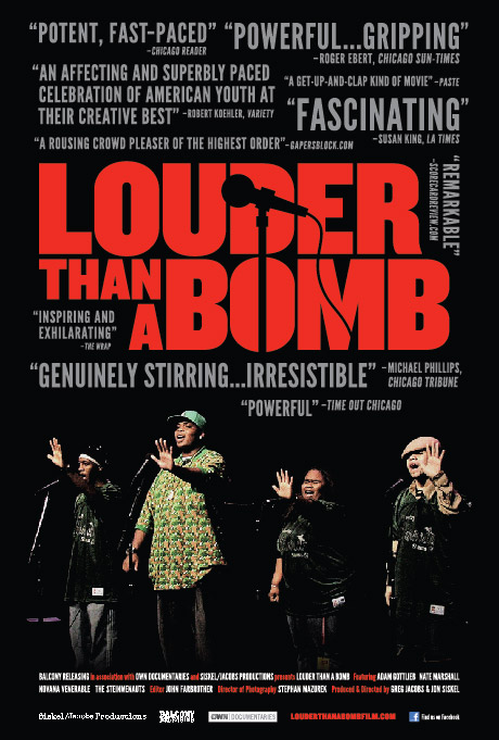 Louder Than A Bomb Promotional Poster